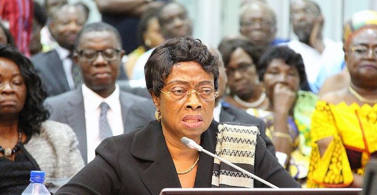 Sophia Abena Boafoa Akuffo,  Chief Justice of Ghana