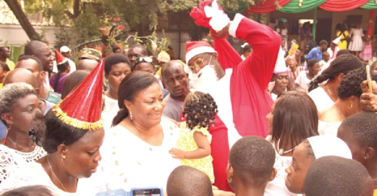 Rights And Dignity Of Ghanaian Children's Are Not Negotiable - First Lady