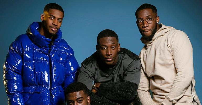Glam Africa Magazine Release Kupe Boys Shoot for Valentine's Day