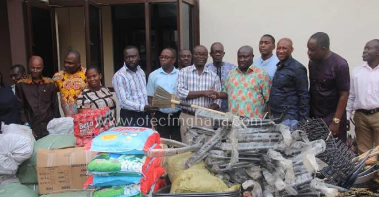 Ashanti Business Owners Support KMA With Cleaning Tools