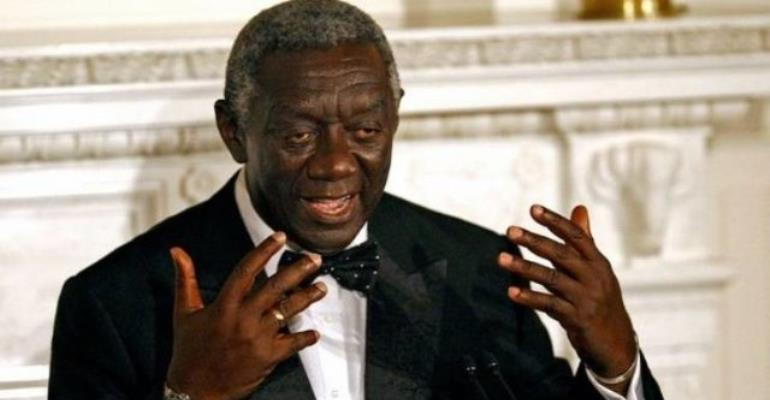 Partner Private Sector For Development - Kufuor Tells Gov't