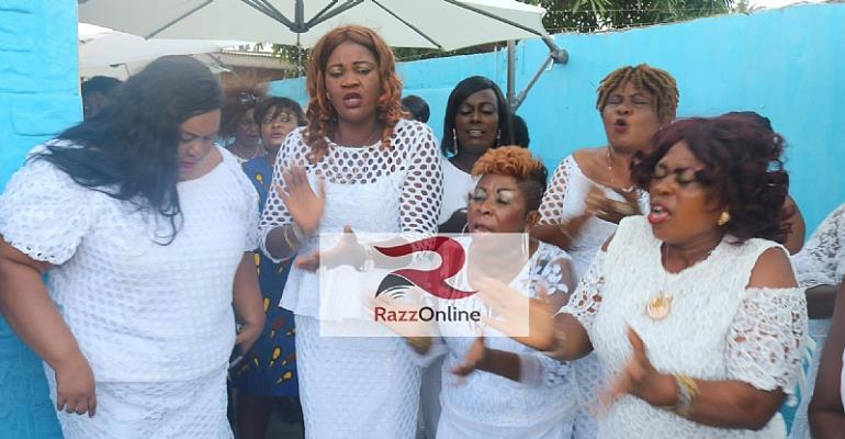 Hot Video: Shatta Wale's Mother Organizes Women's Group To Pray Against Her Son's Death Prophecy