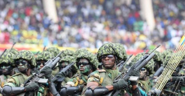 Soldiers, Police Clash Over Military Camouflage