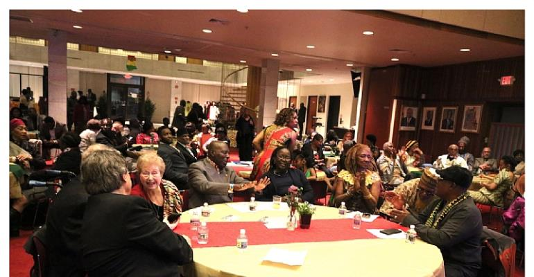 Late Sculptor And Pan-African Dr Oku Ampofo Visits Embassy Of Ghana In Washington DC