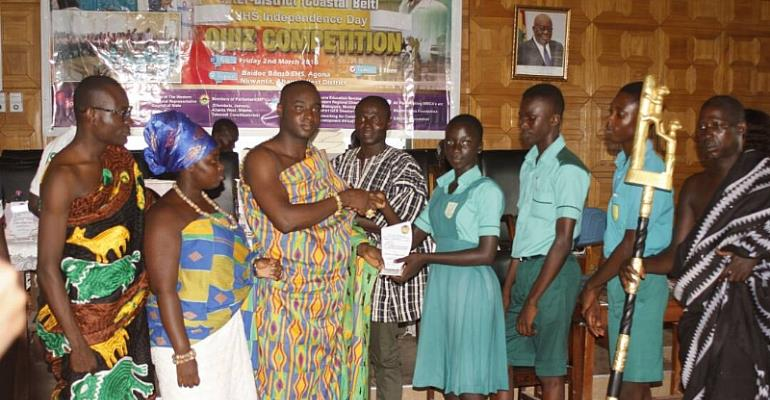 Ahanta West Retains W/R Independence Day Quiz Competition