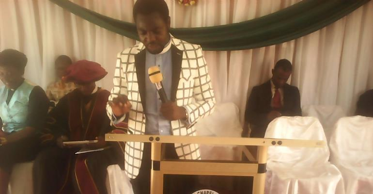 Founder Of Megaword Chapel Int.In Takoradi Honoured With Doctorate Degree