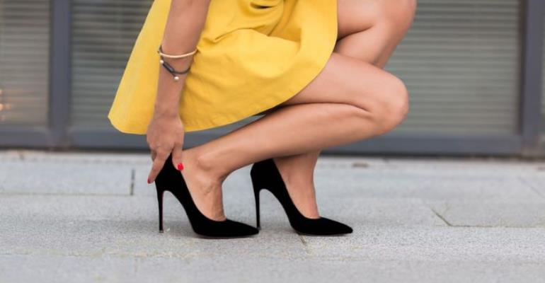 The Downside Of Stilettos In the Woman's World