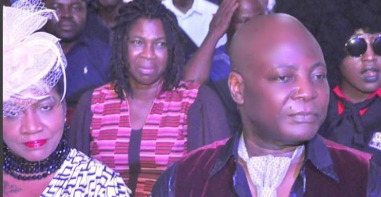 Singer, Charly Boy Worships at Christ Embassy with Wife (photos)