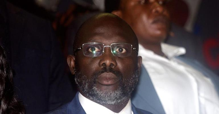 President George M. Weah of Liberia