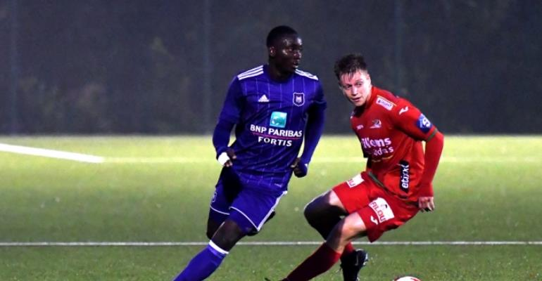 Mohammed Dauda Scores BRACE In Anderlecht 4-1 Drubbing Of KV Oostende In Reserves League
