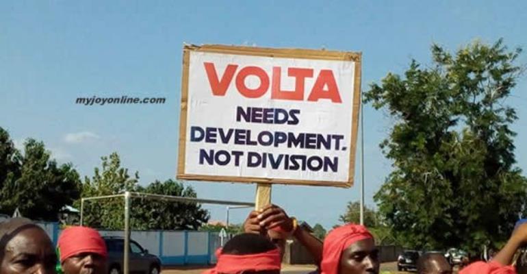 Wild Protests Greet Creation Of New Oti Region