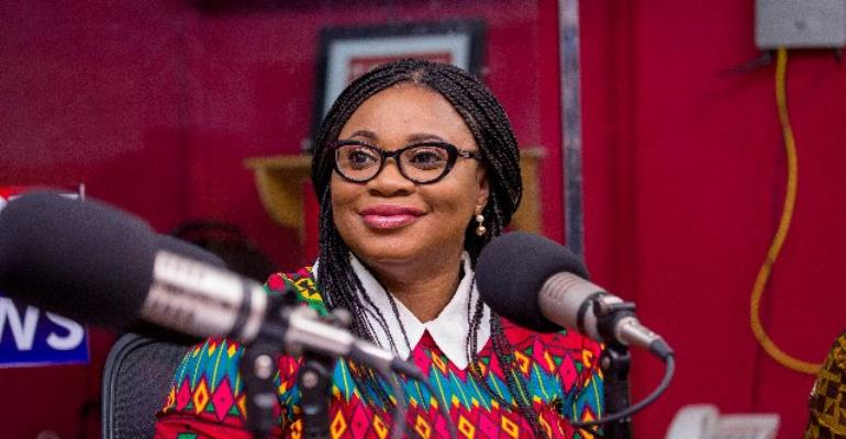 Charlotte Osei responds to sex-for-position claims