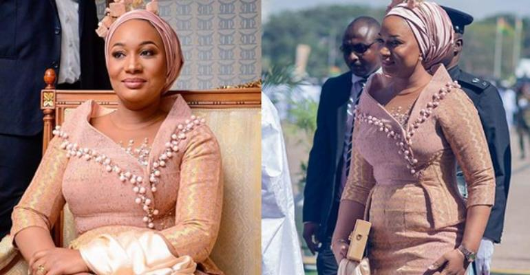 Photos: Was Samira Bawumia Too Fashionable On Independence Day?