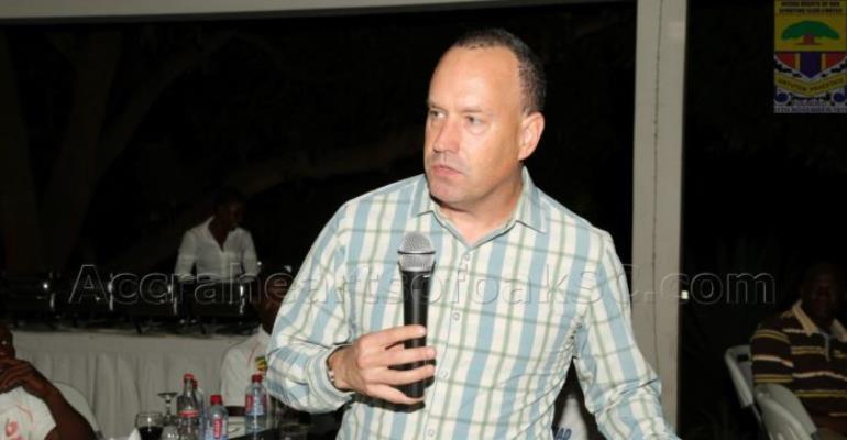 Hearts of Oak CEO Mark Noonan Not Happy About Ghana Premier League Delay