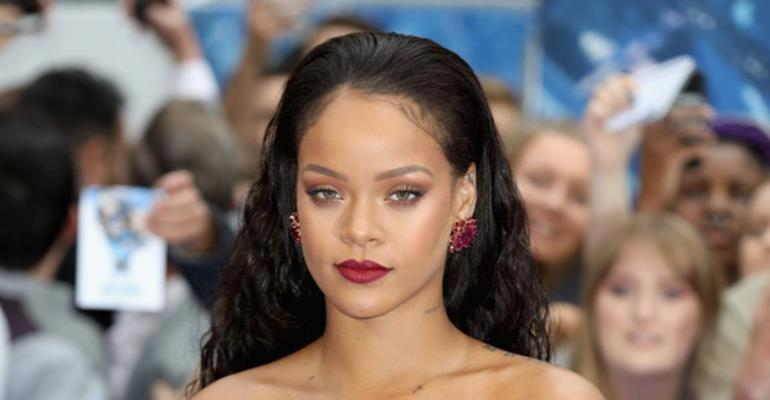 Rihanna May Be Coming Out with Her Own Lingerie Line