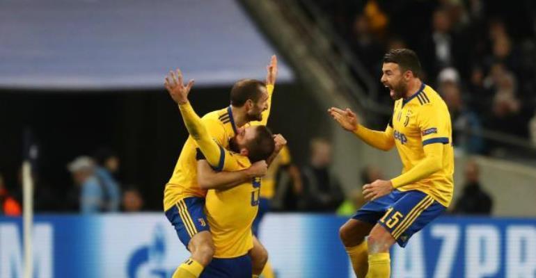 Tottenham 1-2 Juventus (3-4 agg): Dybala And Higuian Dump Spurs Out Of Champions League