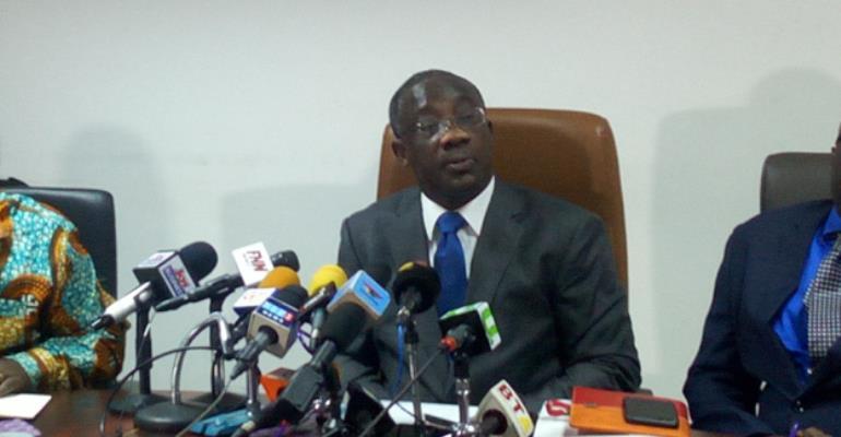 Mr Emmanuel Kofi Nti, GRA Boss