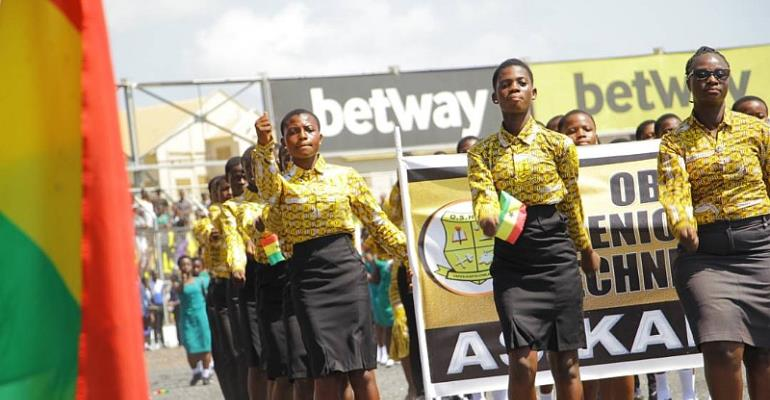 Colorful Ceremony Held In Obuasi To Mark Ghana's 61st Independence Day