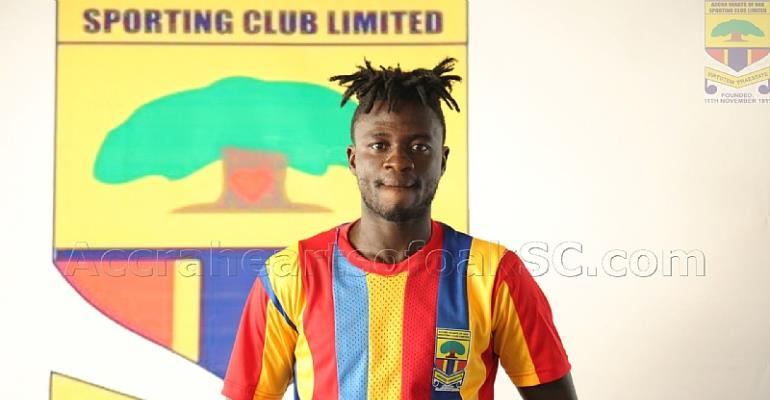 I Feel Proud Anytime I Wear Hearts of Oak Jersey -  Fatawu Mohammed