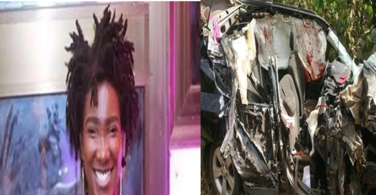 Ebony: great talented Ghanaian artist a victim of road traffic accidents (May her soul RIP)
