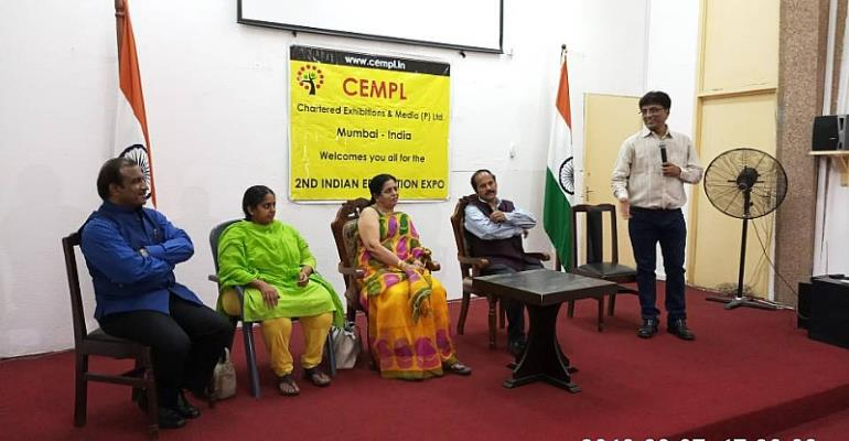 2nd Indian Education Expo Opens