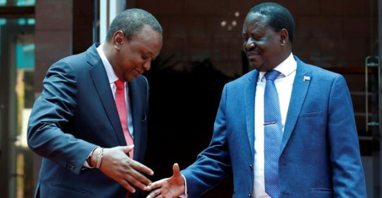 We were unaware about Uhuru-Raila meet, say NASA co-principals