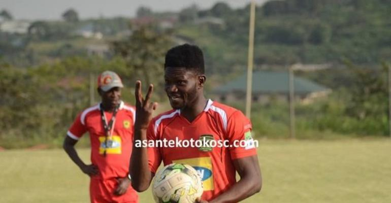 Kwame Bonsu signed a three-year deal with Kotoko