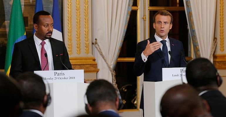 Macron Kicks Off Africa Tour With Djibouti