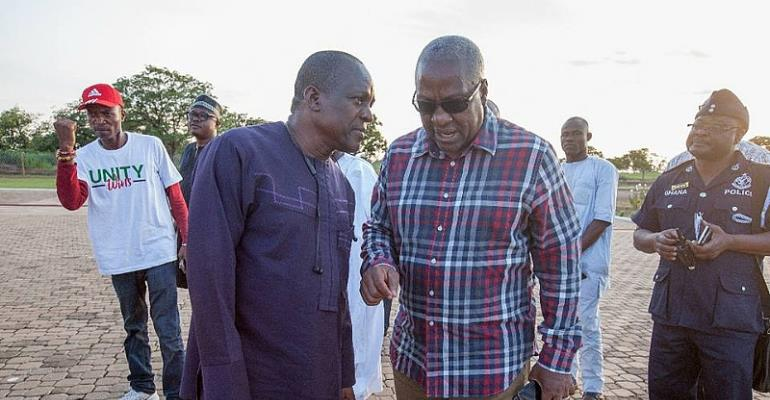 NDC Members Appeal To Mahama To Step Aside For Bagbin To Lead NDC