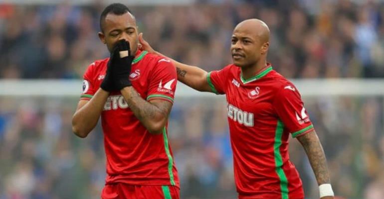 Swansea City Opt Against Appealing Jordan Ayew's Sending Off