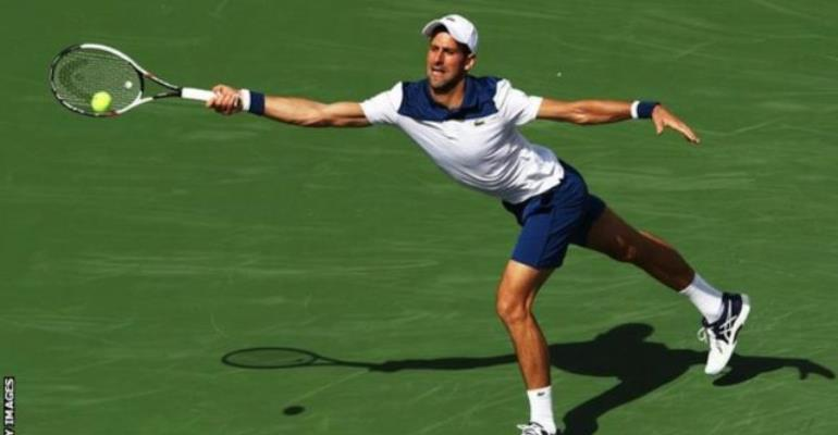 Federer on fire in Indian Wells