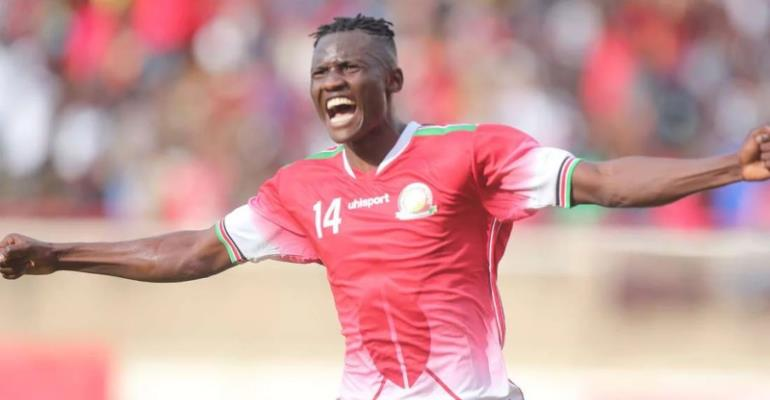 Kenya's Michael Olunga Ruled Out Of AFCON Qualifier Against Kenya