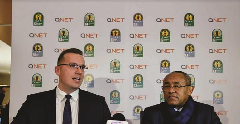 QNET Announces Sponsorship Of CAF Champions League, CAF Confederation Cup And CAF Super CUP