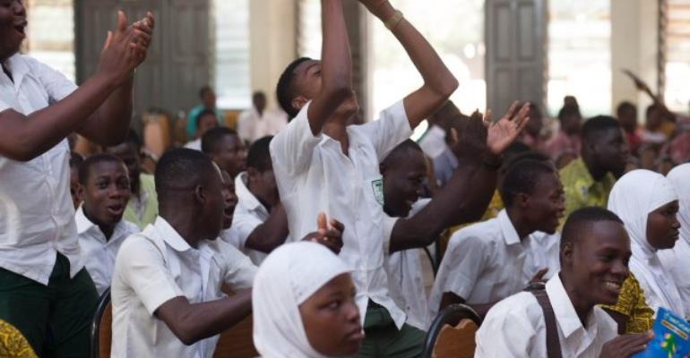 Kalpohin students couldn't hide their joy after qualifying