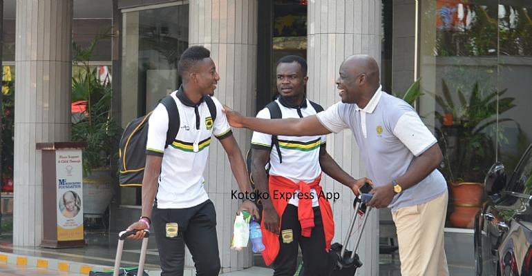 CAF CC: Asante Kotoko Leave For Zambia To For Zesco Clash