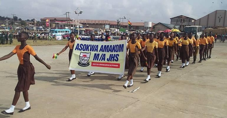Asokwa Observes Ghana @62 As A Municipality