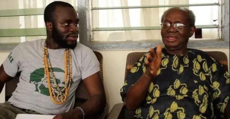 M.anifest and Prof Kwabena Nketia