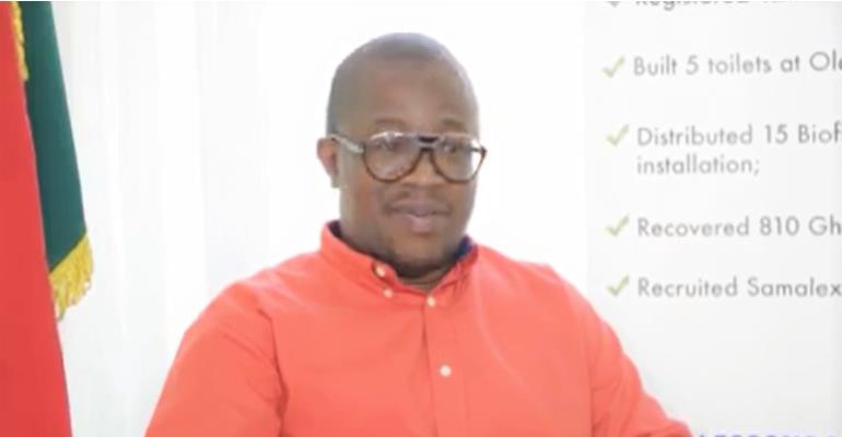 Hon. Dr. Emmanuel Lamptey, the Ga Central Municipal Chief Executive (MCE)