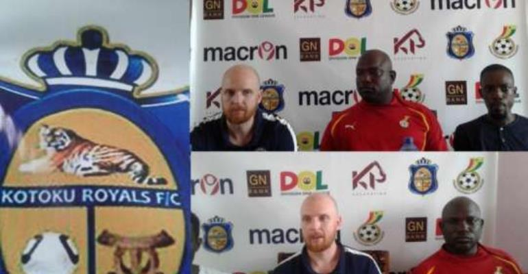 Kotoku Royals F/C sign on new British coach