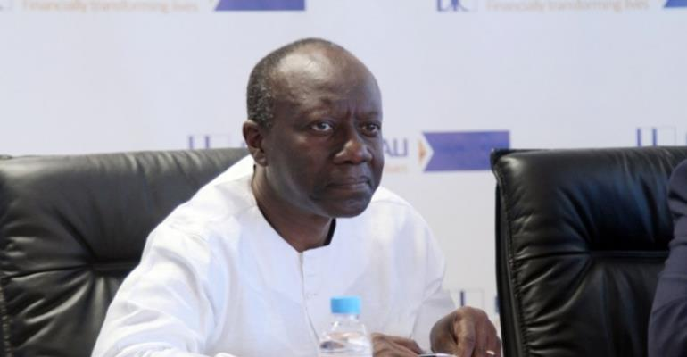 Ken Ofori Atta, Minister of Finance