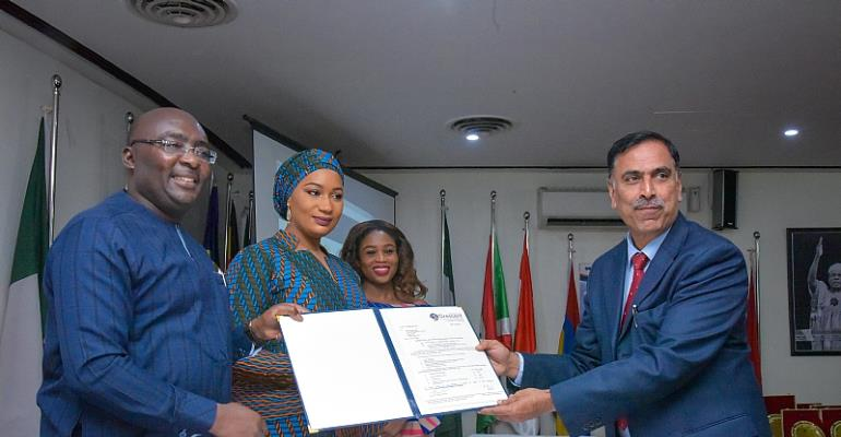 Samira Bawumia Secures Indian Scholarships For Ghanaian Students