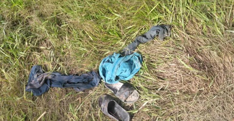 Emmanuel's clothes found 15 metres away