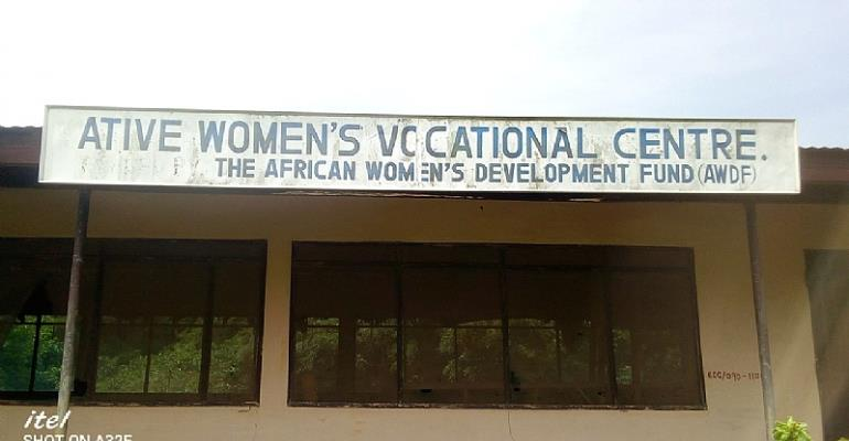 Ative Women's Vocational Center Abandoned And Left To Rot