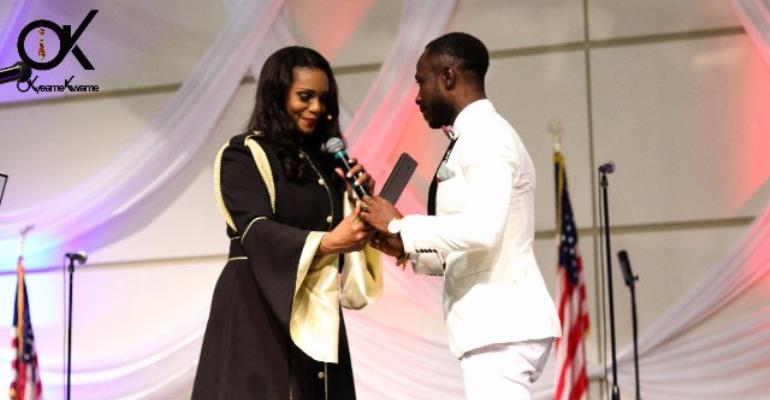 Photos: Barack Obama honours Okyeame Kwame