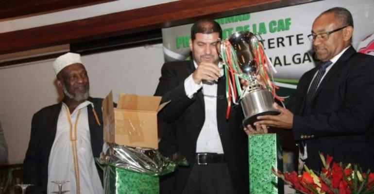 Newly elected CAF boss Ahmad steps down as Madagascar's Senate vice president