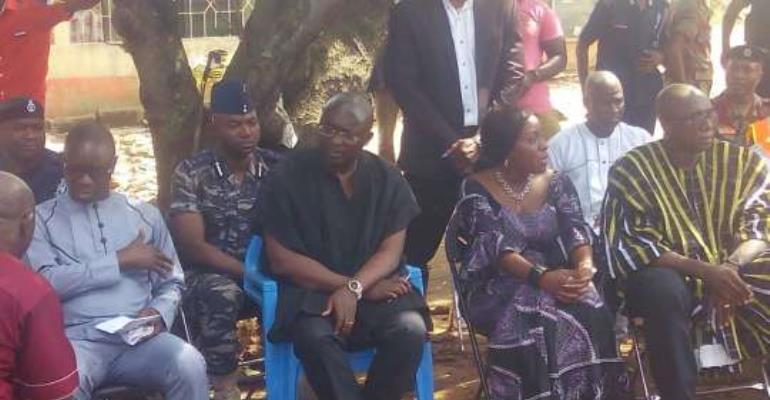 Veep consoles families of the 18, who died at Kintampo waterfalls