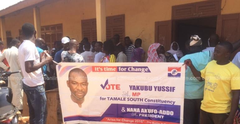 Group wants failed Tamale South Parliamentary candidate given position