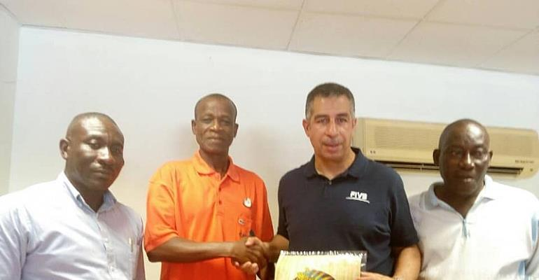International Volleyball Instructor Sherif El Shemerly Conducts Coaching Course In Ghana