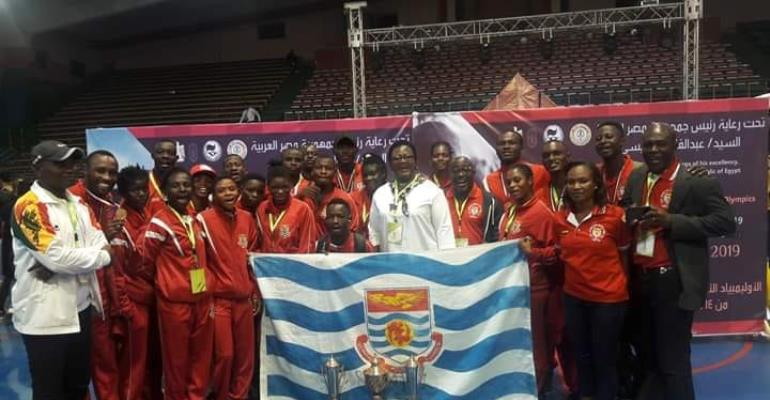 University of Cape Coast Makes Ghana Proud At African University Games