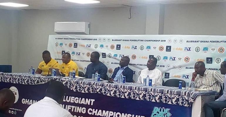 Blue Giant Ghana PowerLifting Championship slated For April